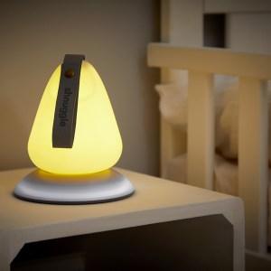 Luz-de-presença-portátil-com-indicador-de-temperatura-Shnuggle-Moonlight-tartaruguita