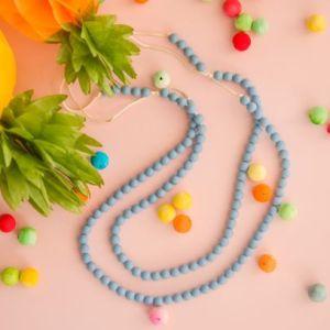 Colar de Amamentação/Babywearing Lollipops & More - Rainbow Loom Tartaruguita