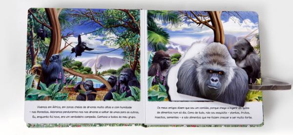O Gorila - Animais da Selva - Tartaruguita