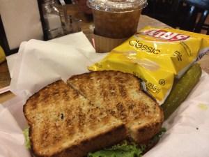 Steve's Club Sandwich.