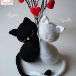 Kittens St. Valentine's Agatha & Argus by Tarturumies