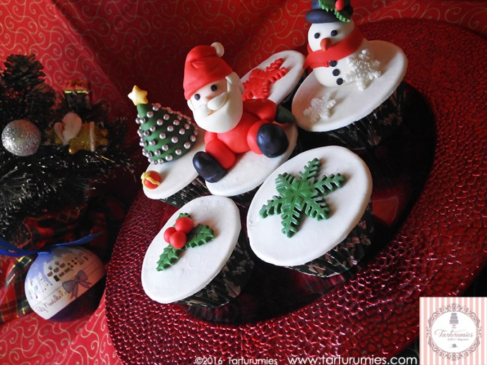 Cupcakes Navidad Tarturumies