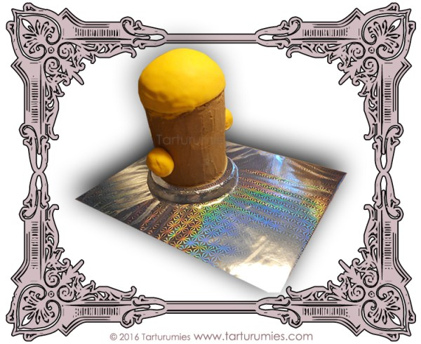 2º Paso Tarta Minion 3D Tarturumies