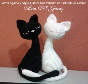 Patrón Agatha y Argus de Tarturumies Versión de Silvia M Gomez