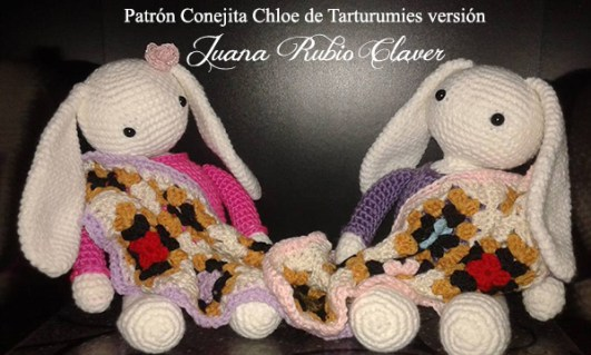 Patrón Conejita Chloe de Tarturumies versión  Juana Rubio Claver