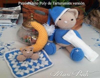 Patrón Osito Poly de Tarturumies Versión de Mari Prats
