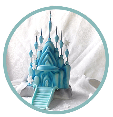 Step by Step Frozen Castle RKT