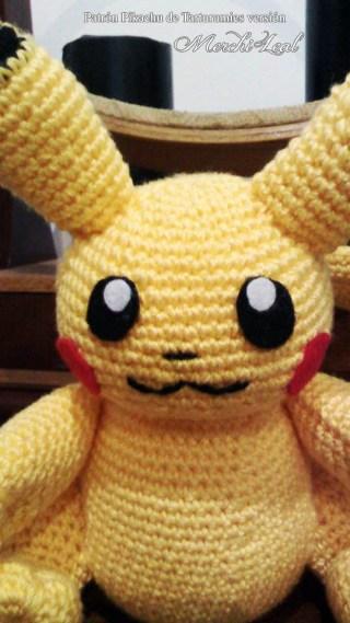 Patrón Pikachu de Tarturumies versión Merchi Leal