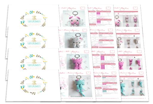 Pokemon Psyduck Amigurumi Llaveros Souvenir - $ 200,00 en Mercado ... | 350x513