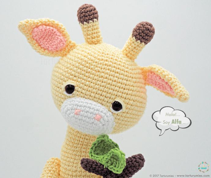 Amigurumi Crochet Pattern - Stanley the Giraffe | Jirafa amigurumi,  Patrones amigurumi, Animales de ganchillo | 583x690