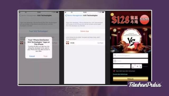 Langkah Mudah Install Aplikasi S128 Di Ios Dan Android