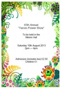 Tarves Flower Show 2013