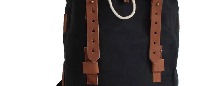 Margelisch Rucksack in schwarz