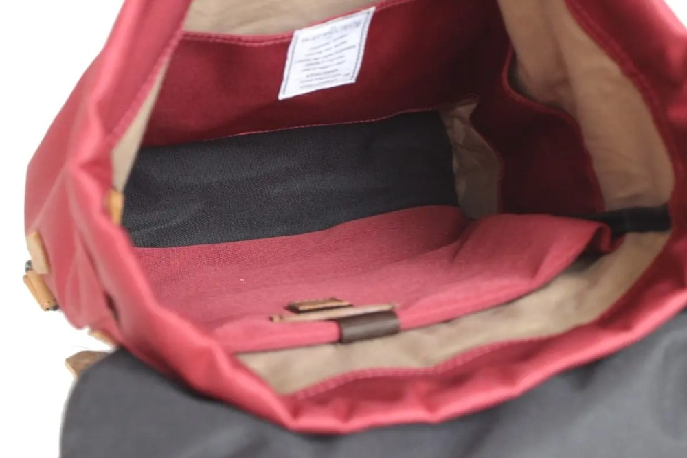 Rucksack Bandir 2 Cord red innen