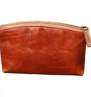 Italian Leather Kosmetiktasche