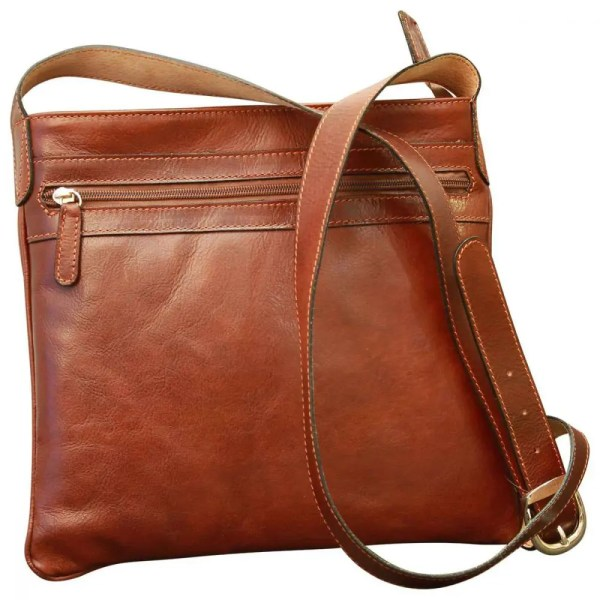 Frontansicht Cross Body Leder