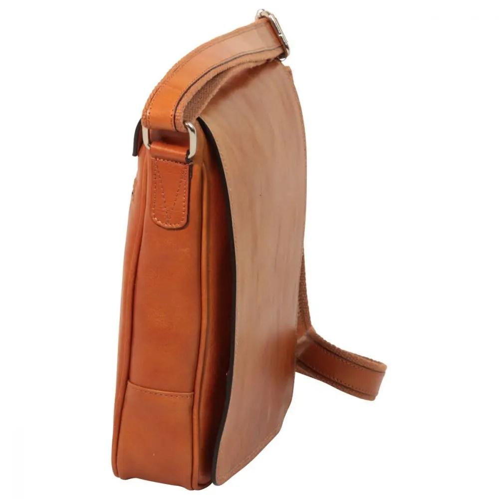 Seite IPad Tasche aus Leder Kolonial