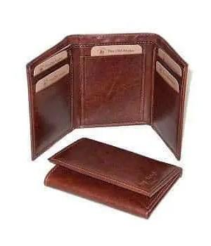 Leder Trifold Wallet