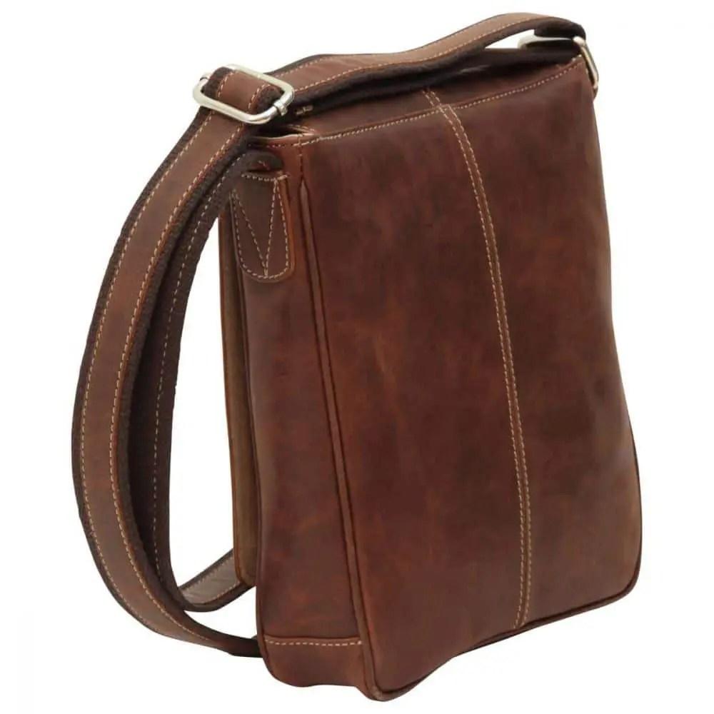 Rückseite Satchel Bag Kastanie