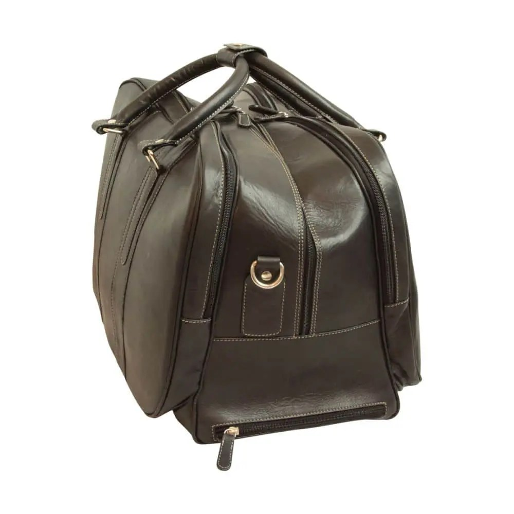 Quer stehende Reisetasche New World Collection Schwarz