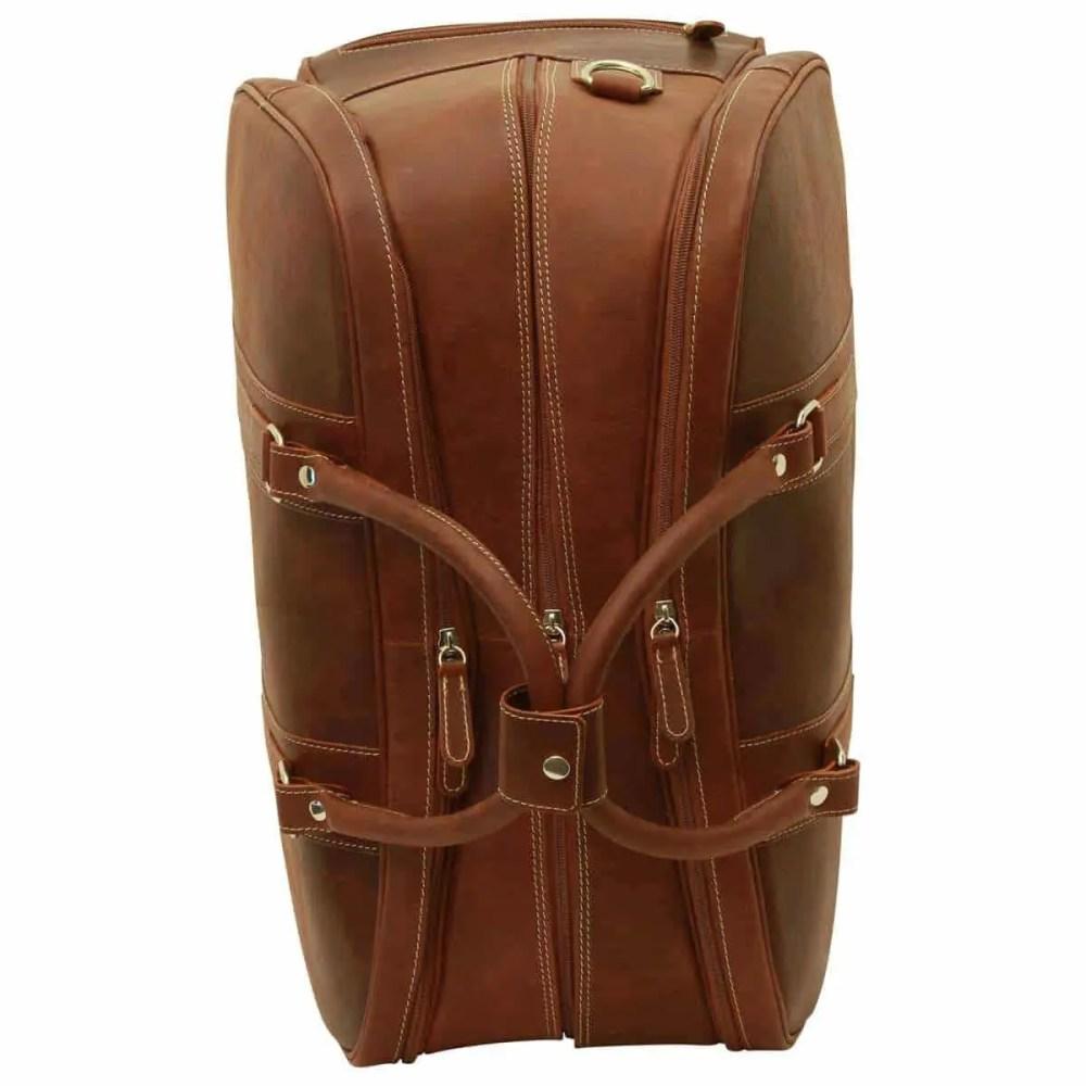 Seite Reisetasche New World Collection Chestnut