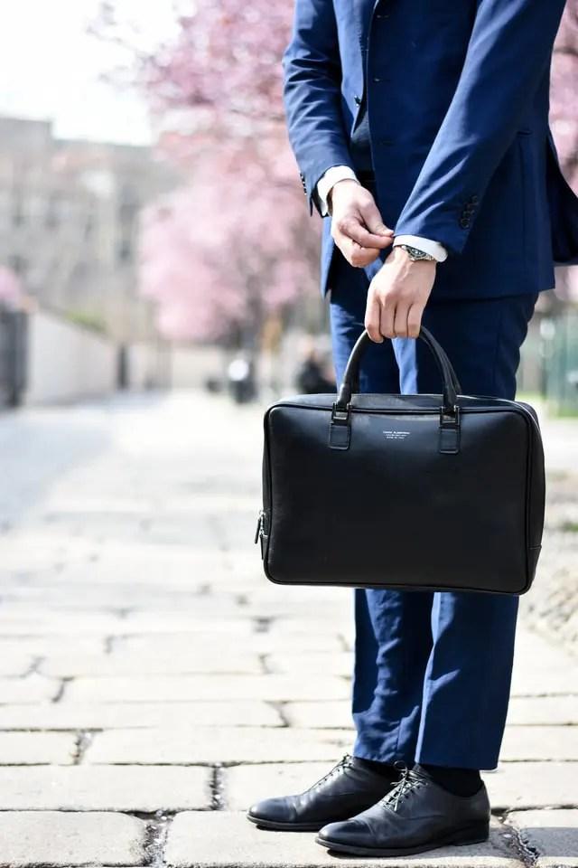 Moderne Aktentaschen für erfolgreiche Männer 1