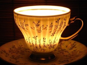 Golden Glamour Soy Candle