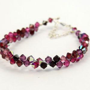 Swarovski Crystal Bracelet in Red