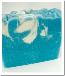 Handmade Soap - Cool Water - by Rhasdala on Etsy