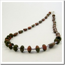 Unakite Necklace (2)