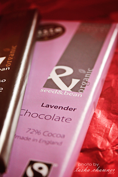 Lavender Fair Trade Chocolate