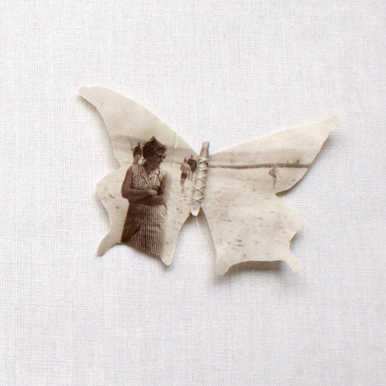 Butterfly Brooch by Puur Anders