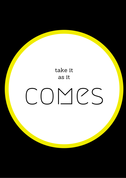 Take it as it comes poster