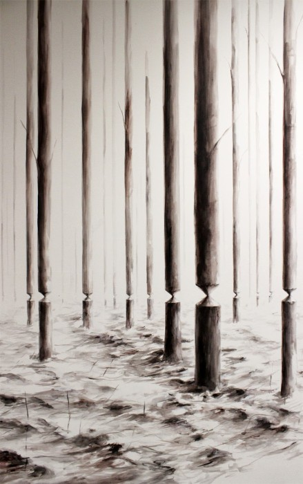 Balanced Forest by Pejac