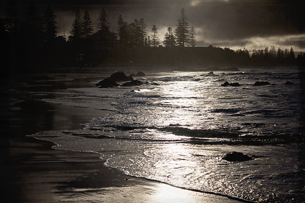 Port Macquarie's Town Beach at sunrise