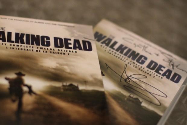 The Walking Dead novel covers