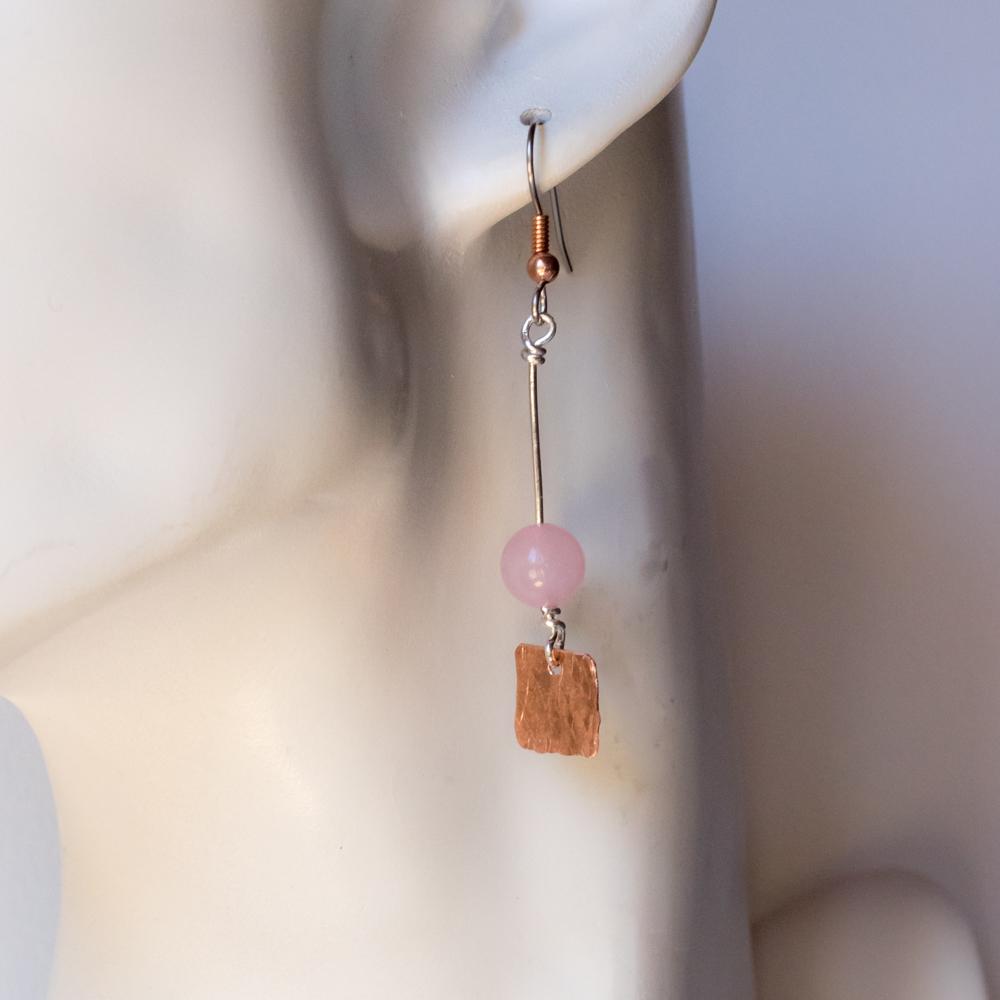 Copper Sheet Earrings