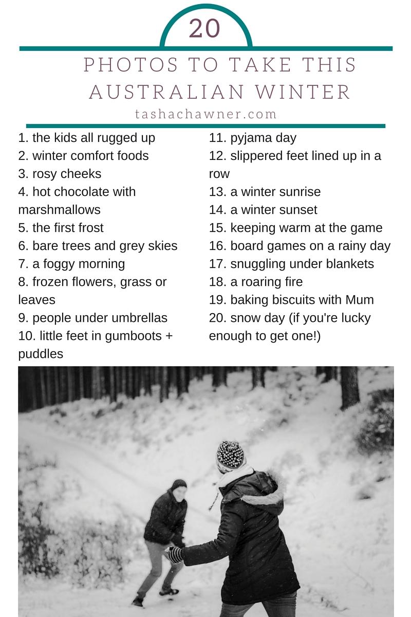 photos to take this winter