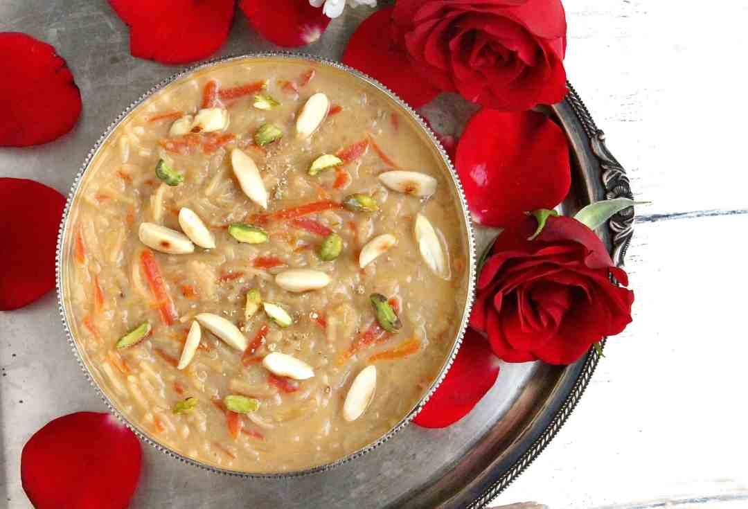 Carrot Seviyan Payasam | Carrot Vermicelli Kheer | 8 Indian Sweets Recipes For Diwali