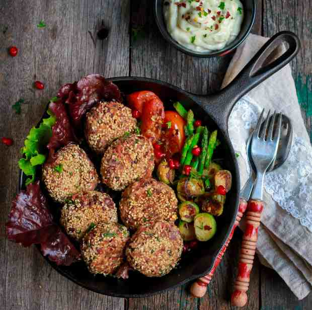 Beans & Millet Cheese Patties easy glutenfree kidfriendly healthy recipe