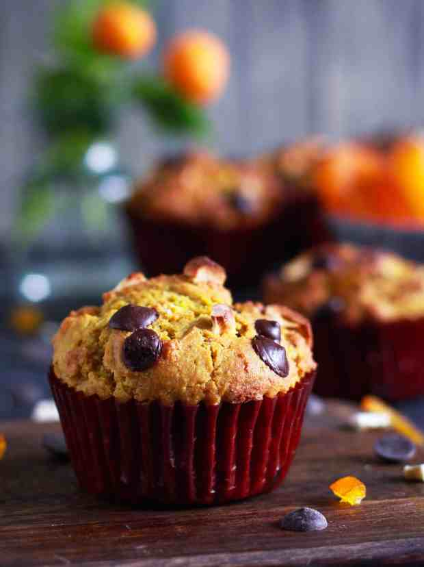 Quinoa Orange Muffins vegan refined sugarfree healthy treats
