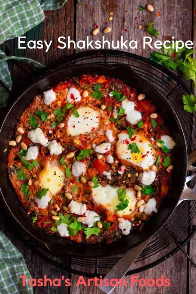 Shakshuka easy egg dish brunch