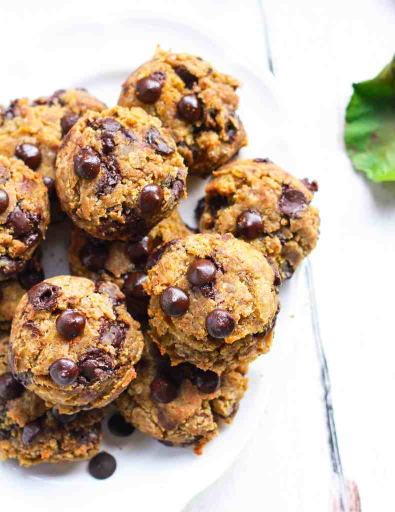 Pumpkin Chocolate Chip Cookies vegan glutenfree baking
