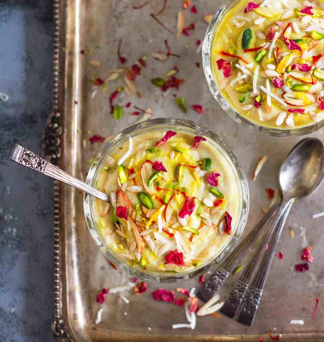 Shakarkandi Ki Kheer   sweet potato kheer   Vegan refined sugarfree  Festive dessert