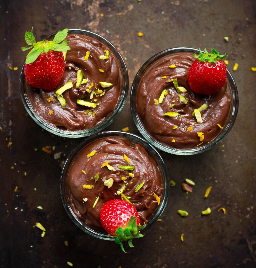 Sweet Potato Chocolate Pudding easy vegan glutenfree refined sugarfree dessert