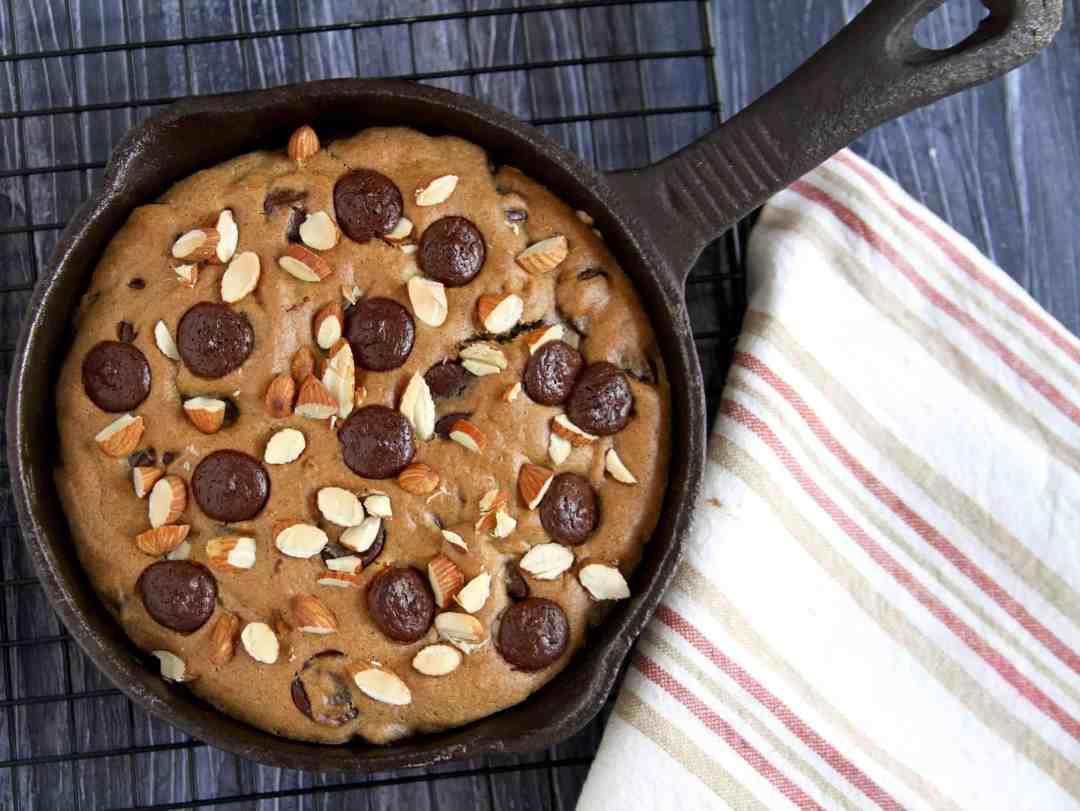 Glutenfree Chocolate Chip Skillet Cookie