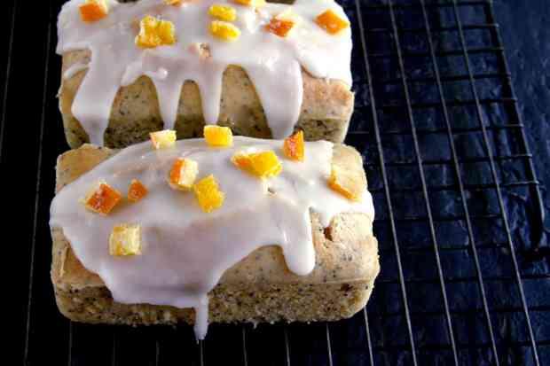 Glazed Orange Poppyseed Cake