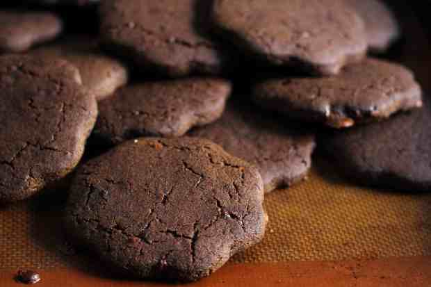 Glutenfree Mocha Shortbread Cookies buckwheat, amaranth, jaggery, refined sugar free,honey
