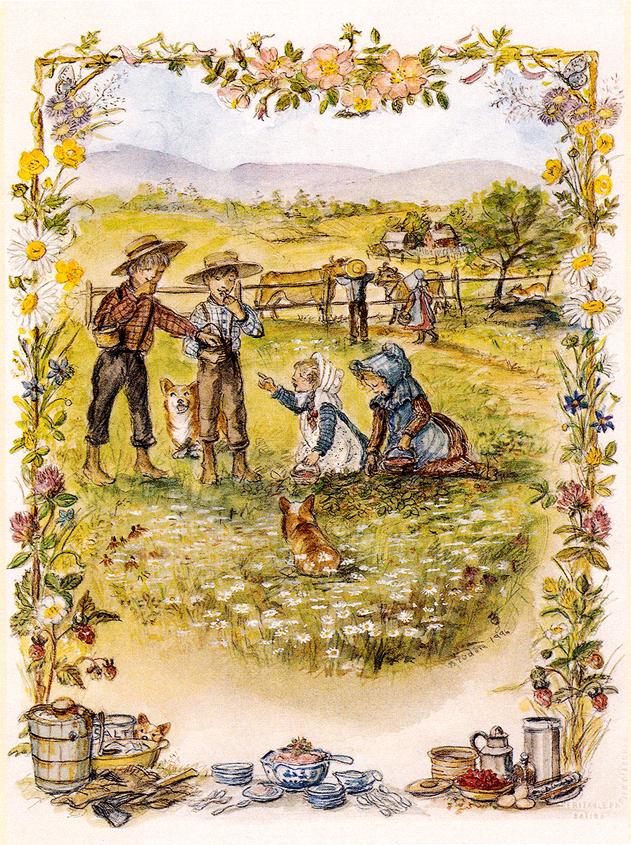 Victoria Four Seasons Cards Tasha Tudor And Family