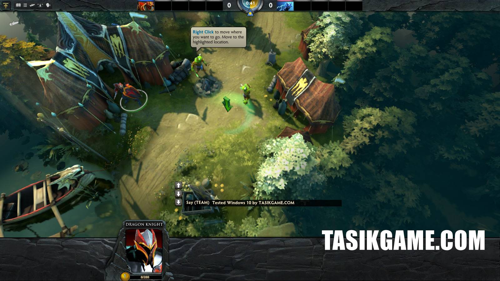 dota 2 offline game pc free download dan cara instal